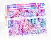 April Monthly Kit - Matte Glossy Erin Condren Monthly Planner Stickers -