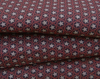 """Dressmaking Fabric Cotton Fabric For Sewing Designer 100 % Cotton Star Printed Purple 41"""" Wide Dressmaking Cotton Fabric By The Yard ZBC6399"""