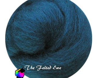 Needle Felting Wool Roving / DR29 Vive le Camelot Carded Wool Roving Sliver