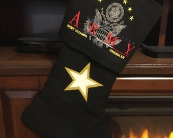 U.S. Army Stocking (Full Logo)