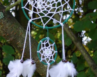 Green / White Dreamcatcher