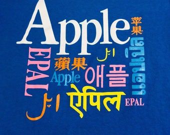 1980s APPLE COMPUTER Made in USA Vintage Shirt