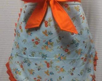 Spring time half apron