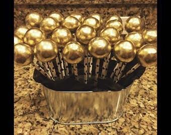 Round cake pops- by the dozen