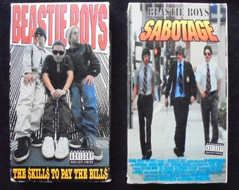 2 Beastie Boys Vintage VHS Tapes