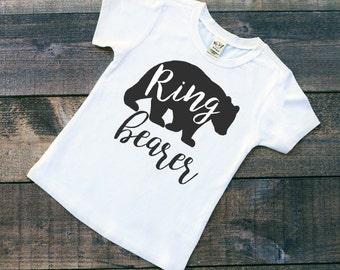 Ring Bearer Shirt - Ring Security T-Shirt - Wedding Party Gift - Boy Wedding Shirt -Wedding Shirt