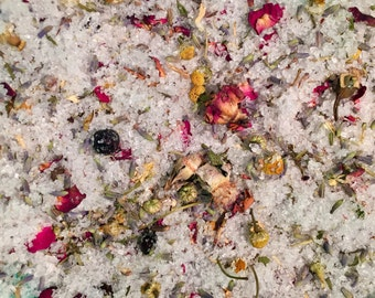 "Lavender & Chamomile Bath Soak - Inspired by Emancipator ""Lionheart"""