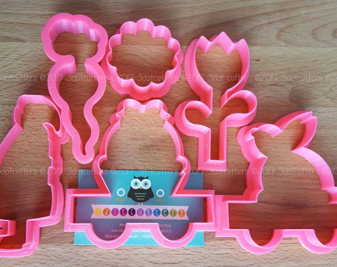 CookieCon Special Edition - Easter Cookie Cutter Set!