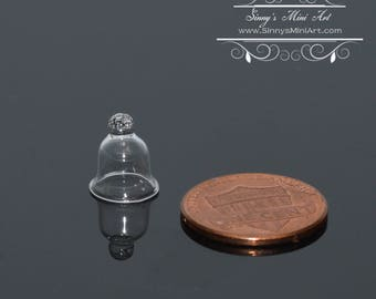 1:12 Dollhouse Miniature Glass Bell/ Cloche- Small BD HB311