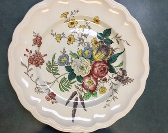 Vintage Spode. Spode Copeland Dinner Plate. Spode Plate. Gainsborough Plate. Copeland Spode Gainsborough. English Dishes. Vintage  Plates