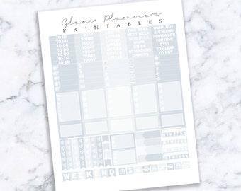 Printable Planner Stickers: 19 (Erin Condren Life Planner PDF)