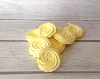 Meringue Cookies-Lemon 2 Dozen
