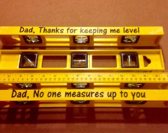 Father's Day/Male Gift Decorative Level-Desktop-Wall Hanging