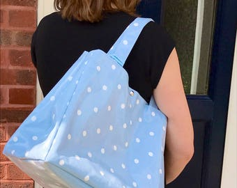 Handbag – Oilcloth Bag – Beach Bag – Purse – Oilcloth Tote Bag – Tote – Diaper Bag – Gift for Mum - Oilcloth Tote - Baby Boy - Baby Shower