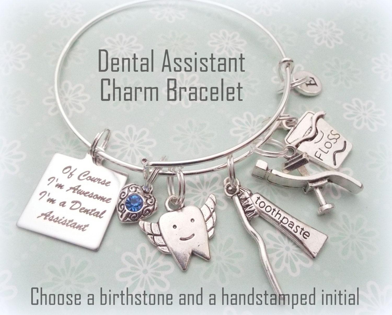 Dental Assistant Gift, Graduation Gift for Dental Assistant Charm ...