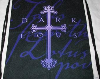 Dark Lotus Black/Purple Tales From The Lotus Pod Drawstring Bag ICP Twiztid
