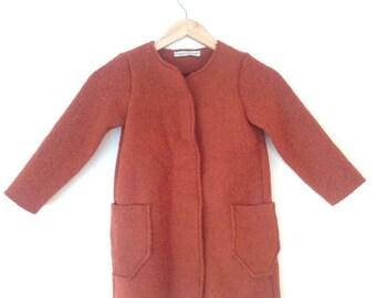 Girls woolen coat
