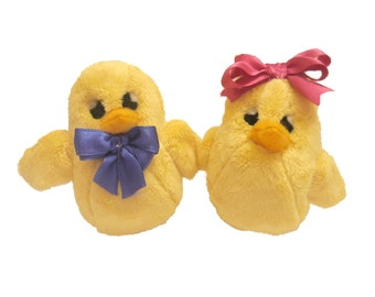 Chick. Easter chick. Plush chick by exclusively Handmade