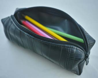 Bike Tube Pouch-Pencil Case-Recycled Pouch-Zipper Pouch-Travel Bag