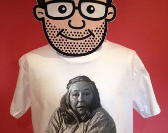 Keeping Up Appearances - Daisy Cult TV Comedy T-Shirt (Oooooo Onslow!) - White Shirt