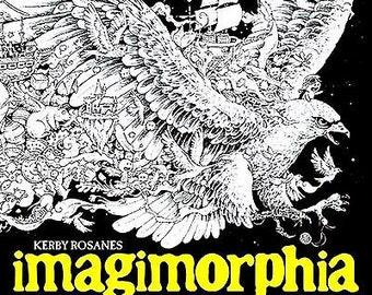 Imagimorphia colouring book