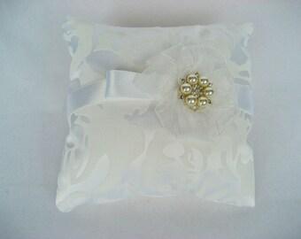 Wedding pillow Wedding Ring Pillows