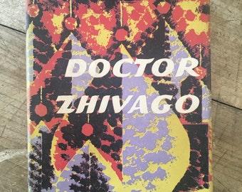 Doctor Zhivago - Boris Pasternak - Russian Novel - Russian Revolution - Romantic book - 1950s classic book
