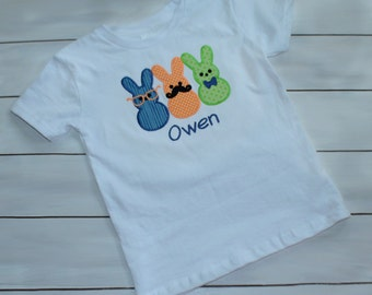 Easter Shirt - Spring Shirt - Personalized Boys Easter Shirt - Personalized Boys Easter Shirt - First Easter Outfit - Monogrammed Easter