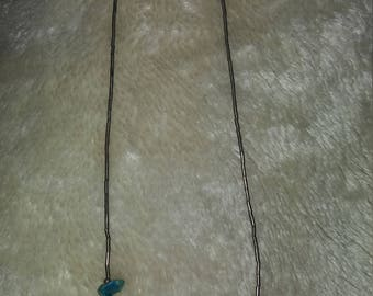 Vintage Sterling and Turquoise Beaded Necklaces