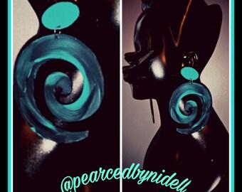 Eve Swirl Earrings