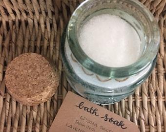 Lavenderia Bath Soak // Lavender Bath Salts