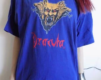 SALE!!!Vintage Dracula Bram Stoker T-shirt/Dracula T-shirt
