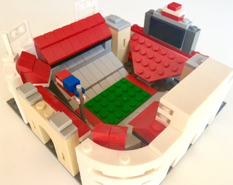 Mini Ohio State Ohio Stadium Custom Brick Set with Printed Instructions