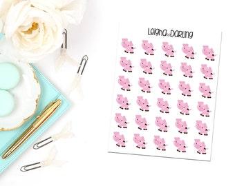 Pig Planner Stickers
