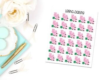 4H Pig Planner Stickers