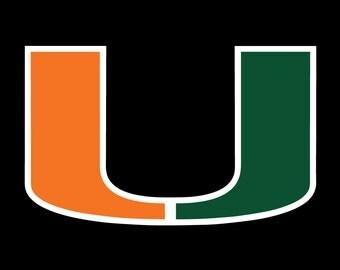 University of Miami Hurricanes Vector File