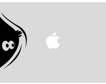 Monster Macbook Stickers | Laptop stickers | Macbook Decal - self adhesive vinyl stickers