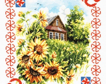 Cross Stitch kit Protect home