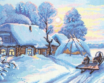 Cross Stitch Kit Frost and sun