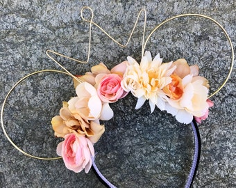 Sweet Romance Floral Wire Ears