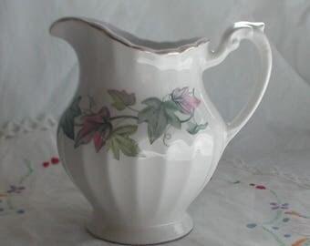 Vintage J & G Meakin Ivy Leaf Design Milk Jug Creamer