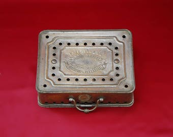French Antique Portable Heater
