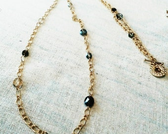 Swavorski Crystal Necklace and Earrings