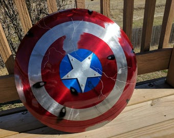 Captain America Shield-Cosplay-Mancave-Shield-Avengers-Art-Costume-Custom-Civil War-Magnetic Strap-Awesome-Comic Con