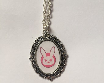 D.Va Overwatch Cameo Necklace