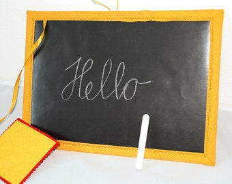 Sewn Magnetic chalk board