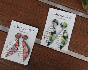 LITERARY EARRINGS PAGES