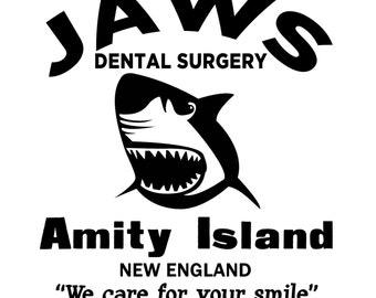 Jaws Dental Surgery Amity Island SVG