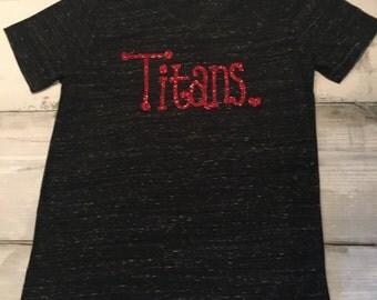 Titans Shirt | Mom team spirit | Spirit Wear| Appeal | Sport Shirt | Team Spirit |  Titans |Shirt | Mom | School Shirt | Custom Shirt