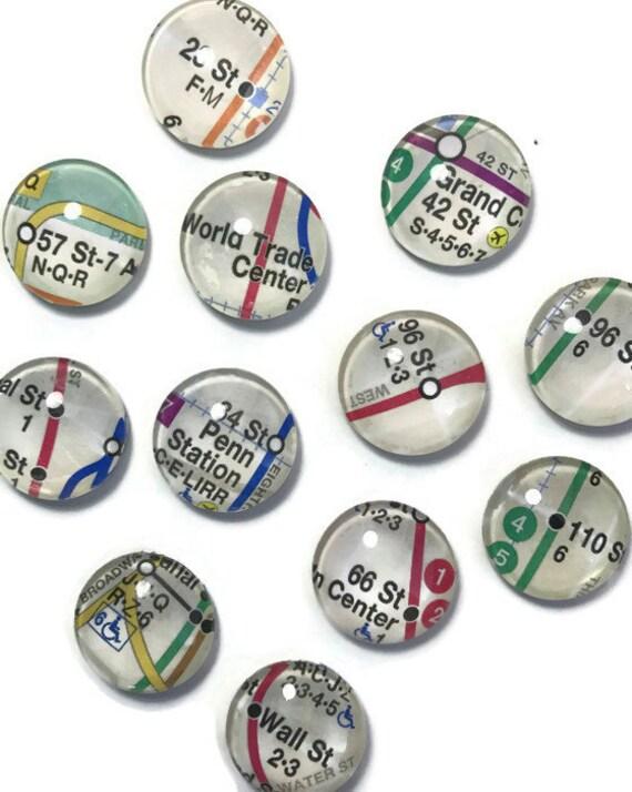 NYC Subway Magnets